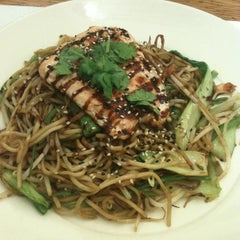 Photo taken at Wagamama by riccardo p. on 4/18/2013