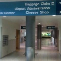 Photo taken at Austin Straubel International Airport (GRB) by Jill L. on 10/20/2012