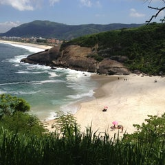 Photo taken at Praia do Sossego by Fernando V. on 3/16/2013