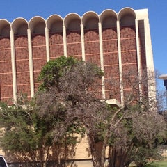 Photo taken at TTU - Texas Tech University Library by Aaron F. on 9/16/2012