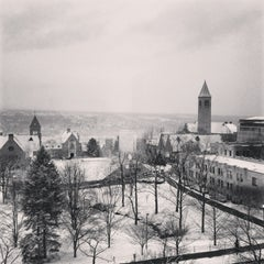 Photo taken at Cornell University by Tom H. on 1/17/2013