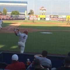 Photo taken at Avista Stadium by Kelly L. on 7/5/2015