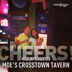 Photo taken at Moe's Crosstown Tavern by W. Skye P. on 4/24/2013