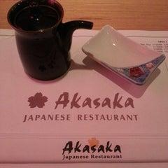 Photo taken at Akasaka Sushi by Rich S. on 9/15/2013