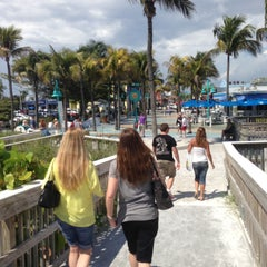Photo taken at Times Square Ft Myers Beach by Kathryn P. on 4/27/2013