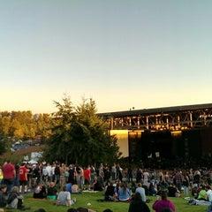 Photo taken at White River Amphitheatre by Adan H. on 9/13/2014