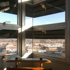 Photo taken at Price Tower by Matthew S. on 12/29/2012