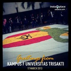 Photo taken at Trisakti University Economic Faculty (Kampus F) by Dea B. on 3/17/2013