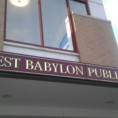 Photo taken at West Babylon Public Library by Diana Q. on 3/3/2013