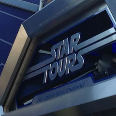 Photo taken at Star Tours - The Adventures Continue by Dick on 1/17/2013