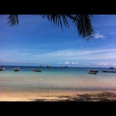 Photo taken at Seashell Resort by GaMJai P. on 5/4/2013