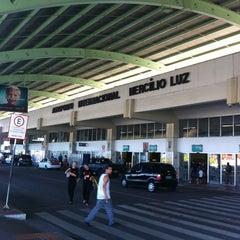 Photo taken at Aeroporto Internacional de Florianópolis / Hercílio Luz (FLN) by Márcio M. on 1/30/2013