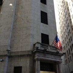 Photo taken at New York Stock Exchange by Eugene V. on 10/1/2012