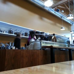 Photo taken at Ristretto Roasters by Rod R. on 4/7/2013