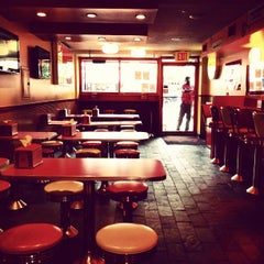 Photo taken at Lucky's Famous Burgers by Matt V. on 7/10/2013