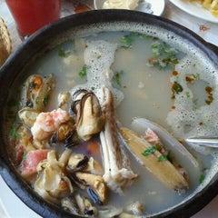 "Photo taken at Restaurant ""La Playa"", El Quisco by SueLen A. on 2/9/2013"