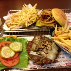 Photo taken at Smashburger by Christine M. on 10/31/2012
