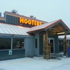 Photo taken at Hooters by Andrew A. on 2/16/2015