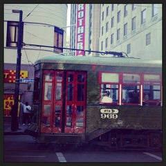 Photo taken at St. Charles Avenue Streetcar by Dhyana C. on 1/23/2013