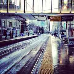 Photo taken at City Hall (C-Train) by Shane K. on 3/19/2013