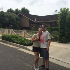 Photo taken at Brady Bunch House by KellyQ on 7/22/2015