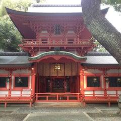 Photo taken at 春日神社 by Dan K. on 3/29/2014
