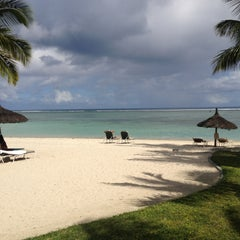 Photo taken at Sugar Beach Mauritius Hotel Resort & Spa by Claus K. on 5/14/2013