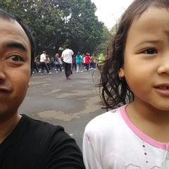 Photo taken at Lapangan Tegalega by Ferry R. on 12/6/2014