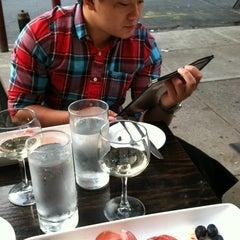 Photo taken at Giorgio's Wine Bar by Clarissa C. on 9/22/2012