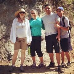 Photo taken at Gabrielino Trail Head by Misa G. on 7/6/2013
