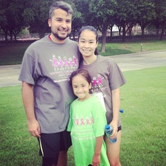 Photo taken at Susan G Komen Race For The Cure North Texas by Eric F. on 6/14/2014
