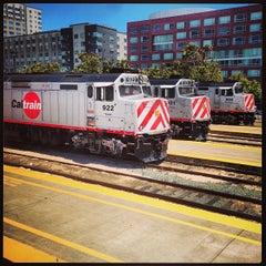 Photo taken at San Francisco Caltrain Station by Jim G. on 7/15/2013