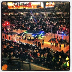 Photo taken at Bankers Life Fieldhouse by Mark L. on 3/22/2013