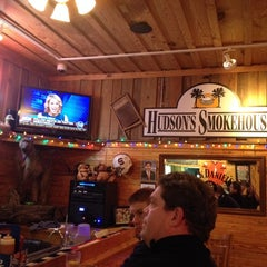 Photo taken at Hudson's Smokehouse by SooFab on 2/7/2014