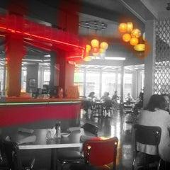 Photo taken at Rosario's by Ron E. on 4/14/2012