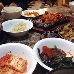 Photo taken at Kim Baek Korean Restaurant by Mina on 1/20/2014