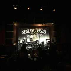 Photo taken at Gotham Comedy Club by Hsini on 1/4/2013