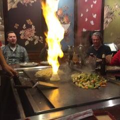 Photo taken at Kiku Japanese Steak & Sushi by Joe T. on 11/5/2015