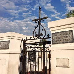 Photo taken at St. Louis Cemetery No. 1 by Stephen Michael F. on 4/29/2013