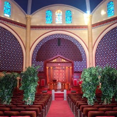 Photo taken at Temple Emanu-El by Stephen Michael F. on 11/17/2013
