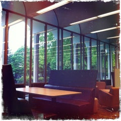 Photo taken at Irwin Library @ Butler University by Nick C. on 5/10/2013