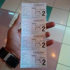 Photo taken at Cinema 21 Cilegon by Satria W. on 2/13/2014