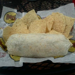 Photo taken at Moe's Southwest Grill by Rashad P. on 12/10/2012