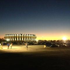 Photo taken at Hampton Coliseum by Dianna H. on 10/21/2013