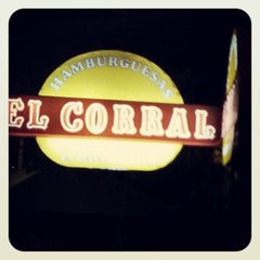Photo taken at Hamburguesas El Corral by David Andres on 10/28/2012