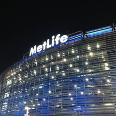 Photo taken at MetLife Stadium by Allison K. on 9/16/2013
