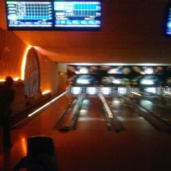 Photo taken at Bowler City Lanes by Ashley B. on 2/17/2013