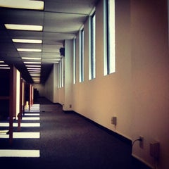 Photo taken at University Library - Cal Poly Pomona by Jane D. on 2/14/2013