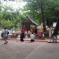 Photo taken at วัดศาลาลอย by Koo K. on 6/6/2013