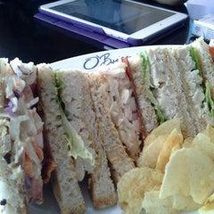 Photo taken at O'Briens Irish Sandwich Bar by aween m. on 6/9/2013